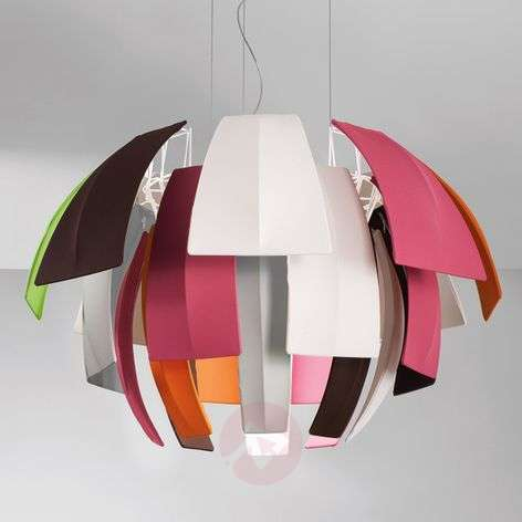 Colourful hanging light Plumage