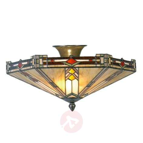 Contemporary ceiling lamp Madison, Tiffany-style
