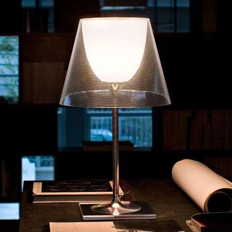 Contemporary table lamp KTRIBE T2, dual lampshade