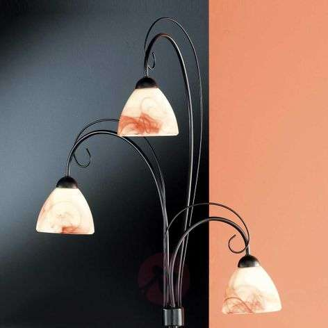 Cottage floor lamp