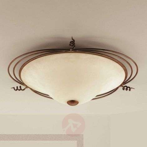 Country-house ceiling light Daniele antique brass