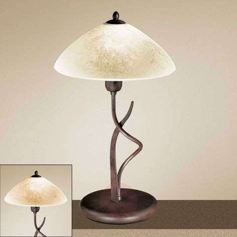 Country-house table lamp Samuele