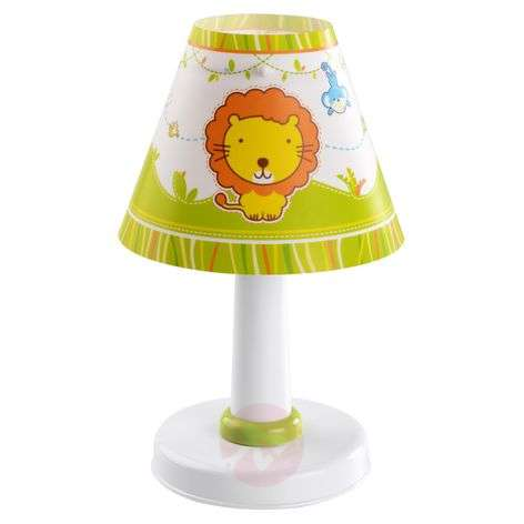 Cute children's table lamp Little Zoo