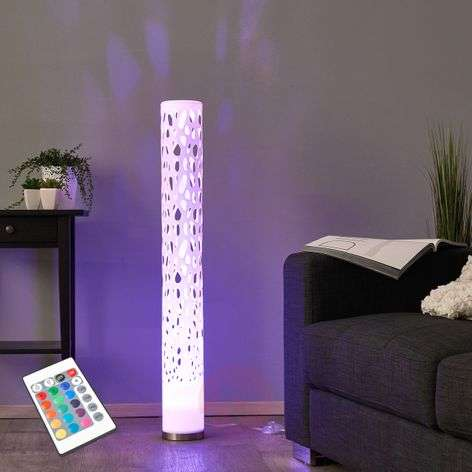 Decorative RGB LED floor lamp Alisea