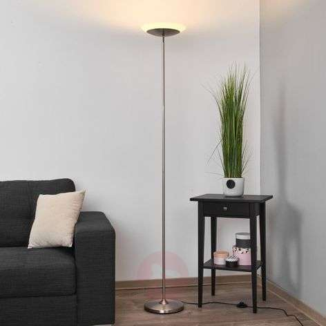 Discreet LED uplighter Olivia with foot switch