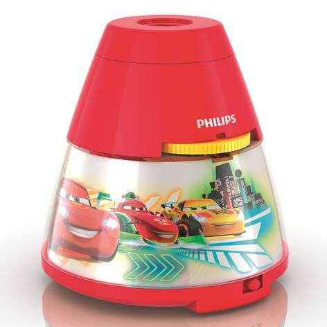 Disney LED table lamp Cars with projector