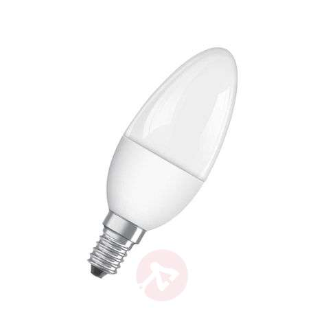 E14 5,5W 827 LED candle bulb Superstar, matte