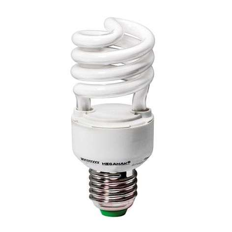E27 14 W compact fluorescent lamp for plants