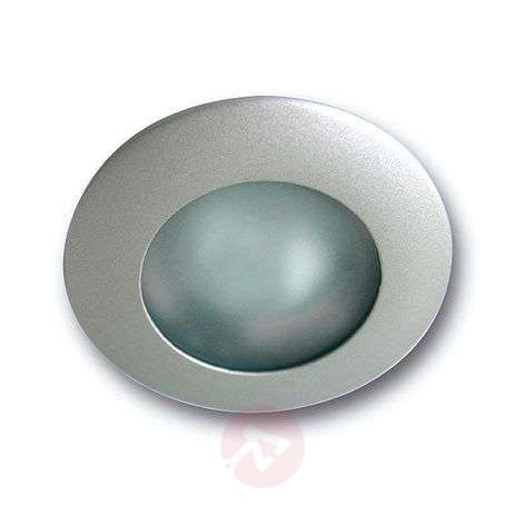 Ed high-volt ecessed light, tension relief, fixed