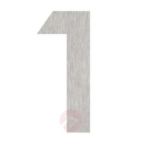 Effective stainless steel house numbers, 0-9