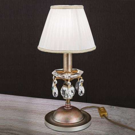 Fabric lampshade -table lamp Miramare