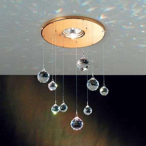 Feng Shui Built-In Light with Swarovski Crystals