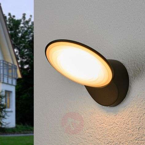 Flat TONA LED exterior wall light