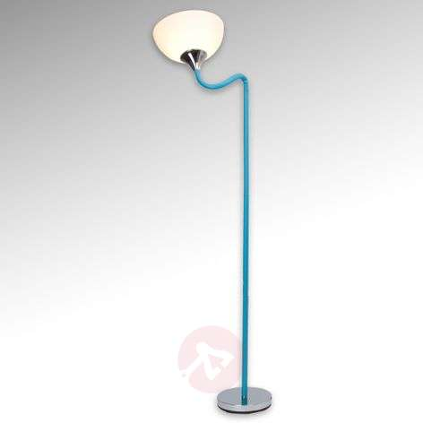 Flexible head - blue floor lamp Lucie