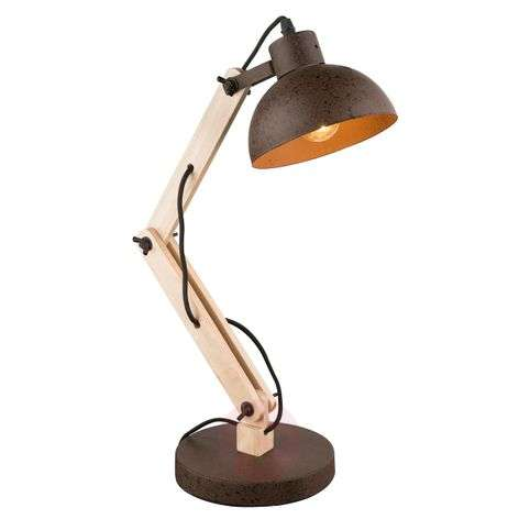 Buy wooden table lamps from lights flexible wooden table lamp taio aloadofball Image collections