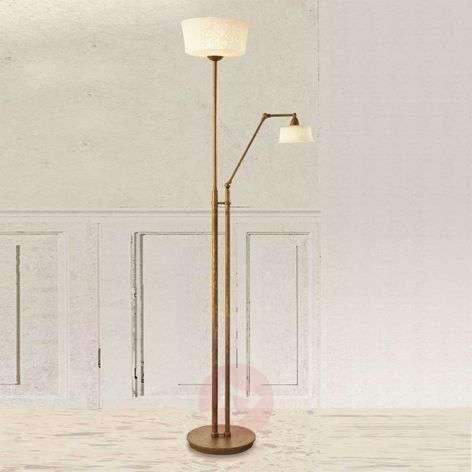 Floor lamp Alessio with reading arm