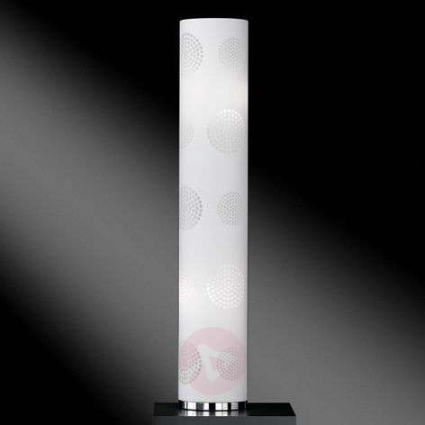 Floor lamp Joona with decorative shade
