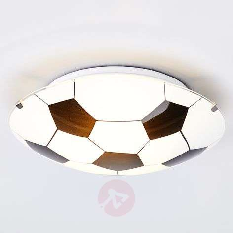 Football Black/White Ceiling Lamp