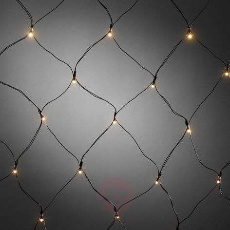For outdoors - 40-bulb LED net light with timer ww