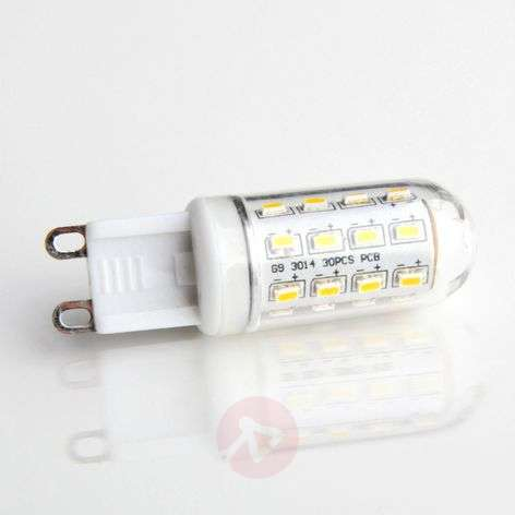 G9 3W 830 LED lamp in tube form clear