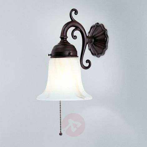 Gerrit wall light with antique mount