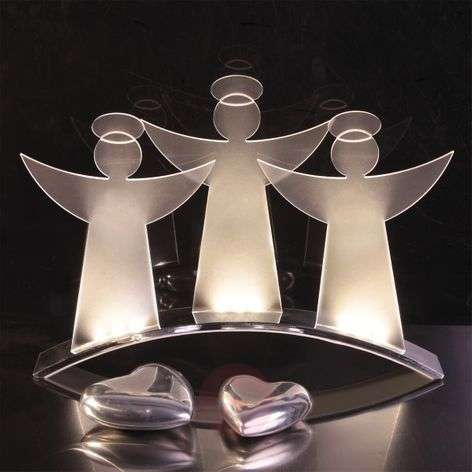 Gorgeous LED candle arch Angel