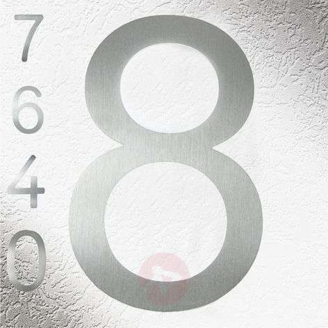 High Quality House Numbers made of Stainless