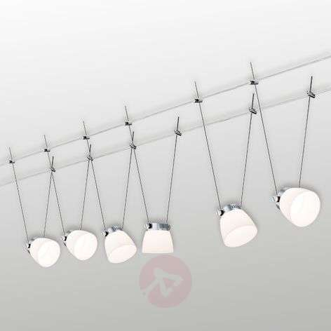 Iced LED III cable system, 6 bulb