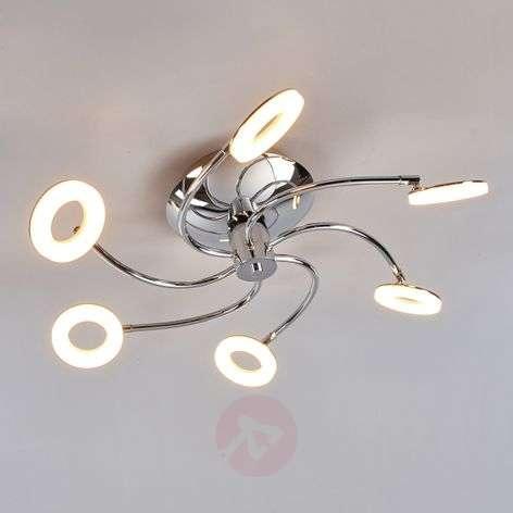 Ilay ceiling lamp with LED lighting