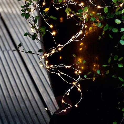 Indoors and out - 40-bulb LED string lights Knirke