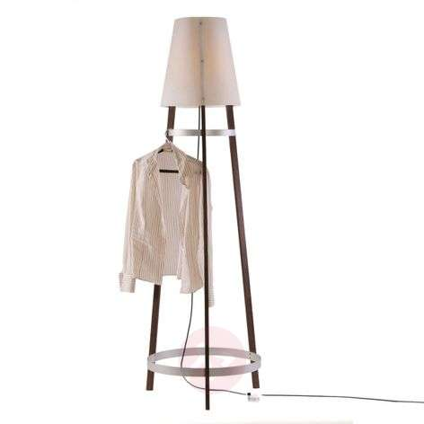 Innovative floor lamp Wai Ting, anthracite cable