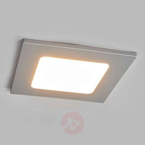 Buy recessed led spotlights from lights joki square led recessed light in silver aloadofball Image collections