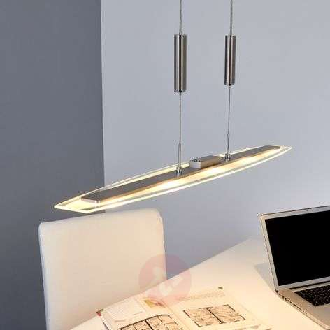 Jonne LED pendant light with rise and fall