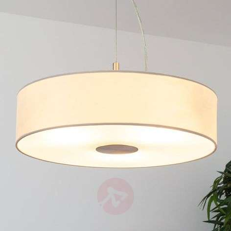 Josia - elegant pendant lamp in white