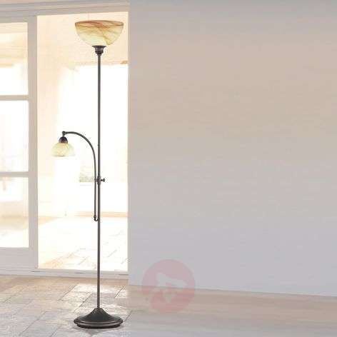 Lacchino floor lamp with foot dimmer