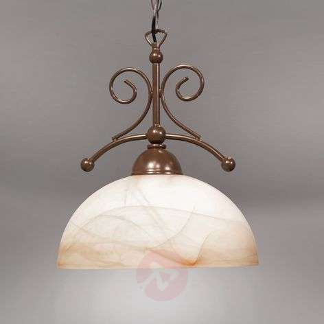 Lacchino pendant light in country house style