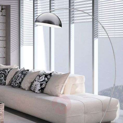 LED arc lamp Florestan with built-in dimmer