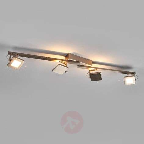 LED ceiling spotlight Kena with 4 spotlights
