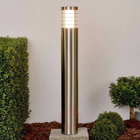 LED path lamp Dila made of stainless steel