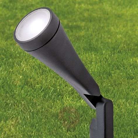 LED pedestal light Davin with ground spike