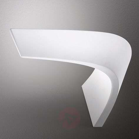 LED wall light BOOMERANG, white, 23 W