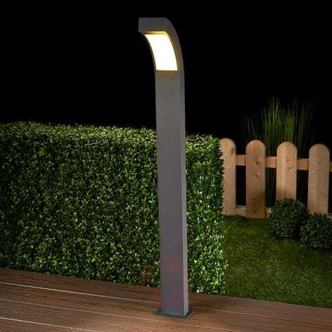Lennik Graphite Grey LED Path Lamp