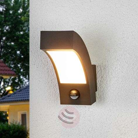 Lennik motion detector led pillar lamp 9619017 buy for Applique murale exterieure descendante