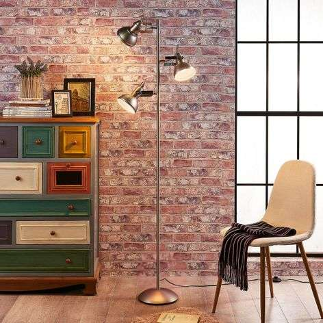 Lilly - LED floor lamp in an industrial design