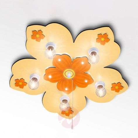 Little Flower ceiling lamp with LED light effect