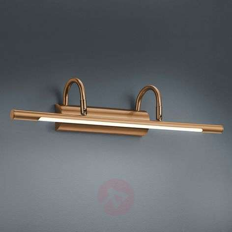 Lorena LED picture wall light, antique brass