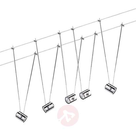 Low voltage cable system TeleComet II 5-bulb