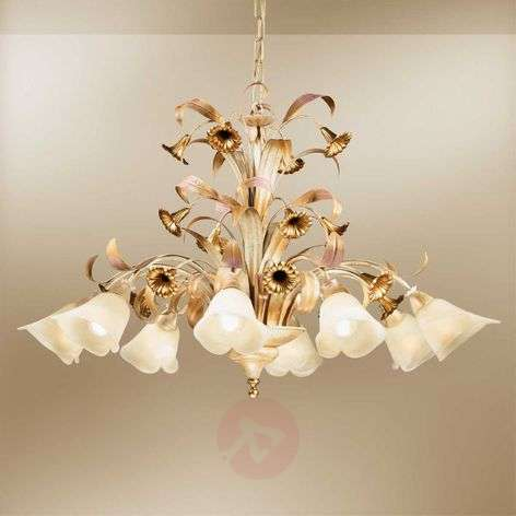 Magnificent Florentine hanging light Giovanni