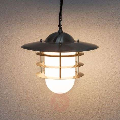 Mian Decorative Outside Hanging Lamp, Stainless