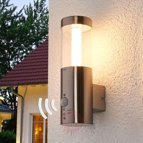 Motion detector -LED outdoor wall lamp Ellie